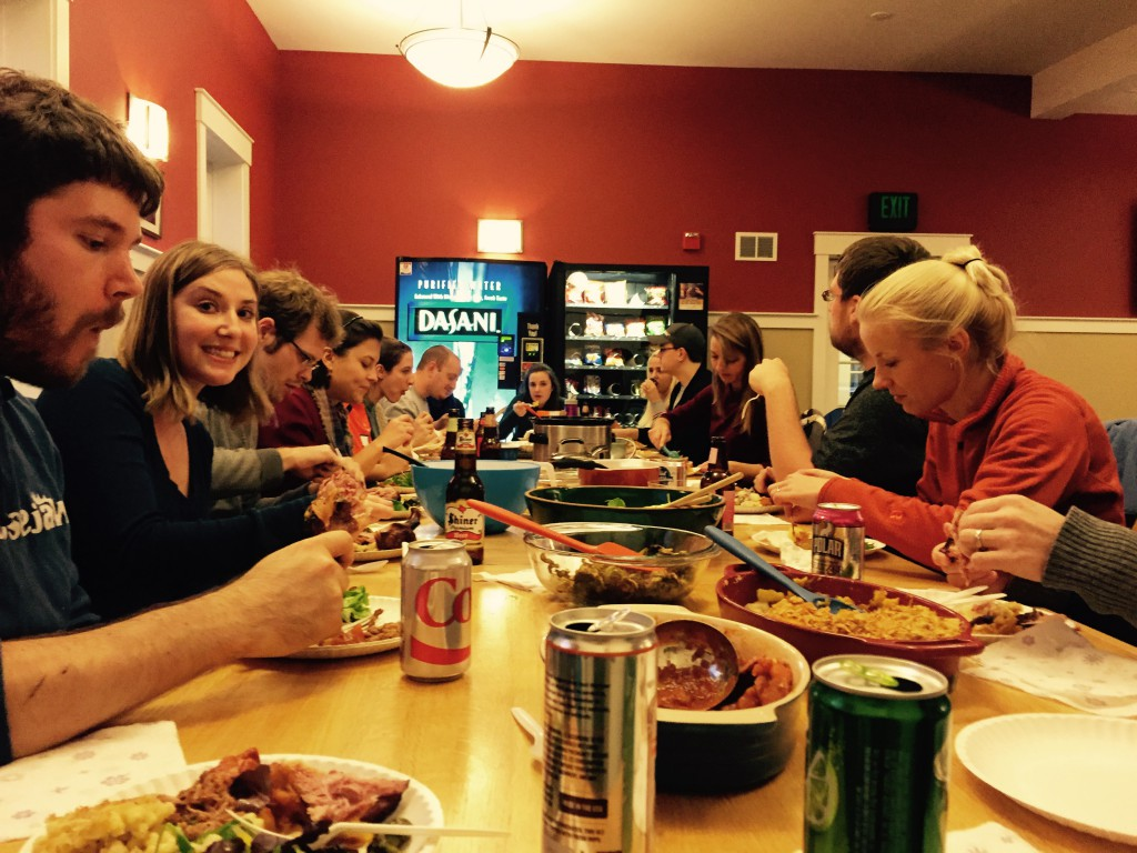 Kettenbach and Gerber labsgiving 2014